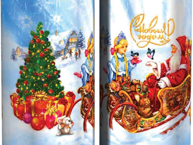 История сладкого Новогоднего подарка
